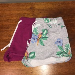 2 Pairs of Old Navy Comfy Shorts